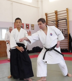 Семинар сэнсэя Сонода Такехико (8-й дан Ёсинкан Айкидо, Япония)